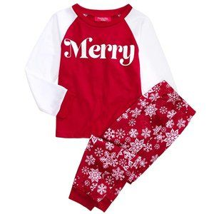 NWT Family Pajamas Matching Kids Merry Pajama Set